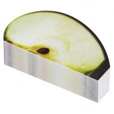 Блок стикеров фигурный  Яблоко (150 листов 3.7х6.5 см)