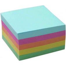 "Блок бумаги  9х9х5 ""Attache"" цветной"