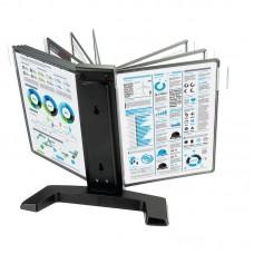 Демо-система настольная Mega Office 10 панелей черная