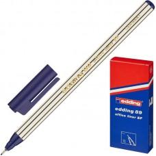 Ручка капиллярная (линер)Edding E-89/001 0.3 мм. синяя