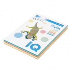 Бумага IQ Color 250 л. 80гр/м (5 цветов 50 листов)