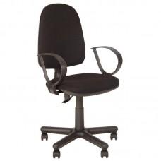 Кресло  Jupiter черное (ткань/пластик)