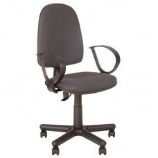 Кресло  Jupiter серое (ткань/пластик)