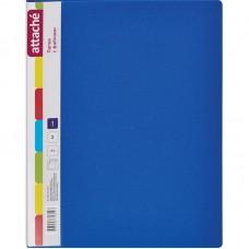 Папка на 10 файлов Attache 0.7 синяя