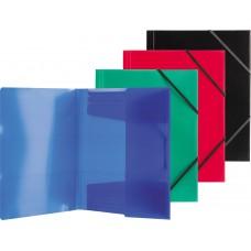 Папка на резинке PROFF Next  700 мкм,корешок 20мм. полупрозрочная в ассортименте
