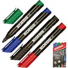Набор маркеров перманентных Kores  (1.5-3 мм, 4 шт/уп) купить в Екатеринбурге