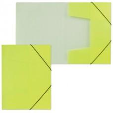 Папка на резинке  NEON 0.5 жёлтая