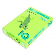 Бумага цветная IQ Color (А4, 80 г/кв.м, зеленый-неон, 500 листов)