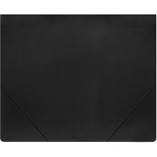Папка на резинке Attache А4 пластиковая плотная (0.7 мм, до 200 листов)черная