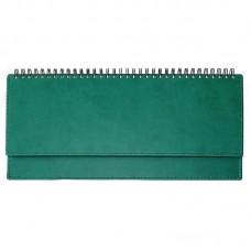 "Планинг на 2020 год  ""Attache Вива"" иск.кожа,зеленый (60л/303х150 мм)"