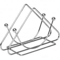 Салфетница треугольник хром