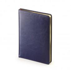 Ежедневник на 2021 год  Sidney А5 (168л/145х206 мм)золотой срез,синий