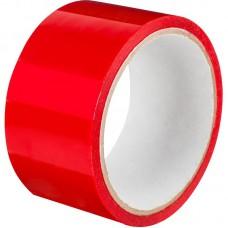Клейкая лента 48мм*66 м плотность 45 мкм.красная