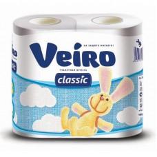 Бумага туалетная Linia Veiro Classic 2-сл. 140л.(4 шт/уп)