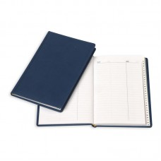 Алфавитная книжка Attache Вива А5, 202х133 мм,96л. кожзам, синий