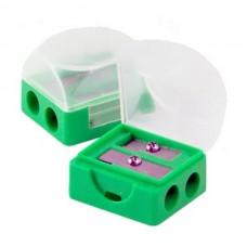 Точилка Attache двойная с контейнером в ассортименте