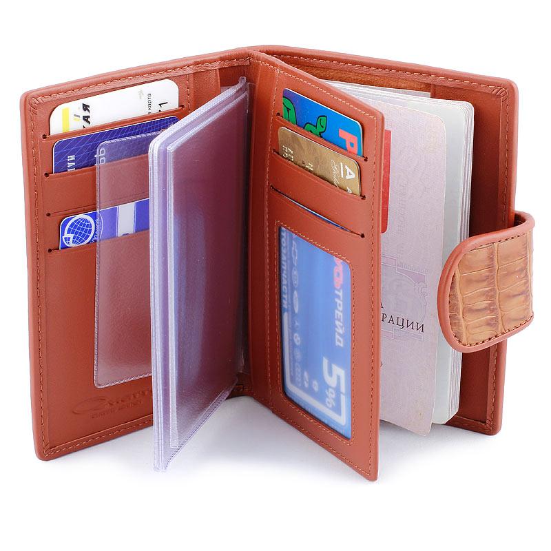 Бумажники, обложки для документов